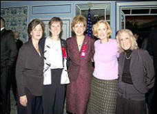 U.S. Attorney for the Eastern District of New York Roslynn R. Mauskopf , NYSP Captain Claire Mulcahy, Administrator Karen Tandy, Special Narcotics Prosecutor Bridget Brennan and Jodi Avergun